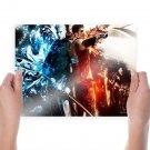 Devil May Cry Game Desktop  Art Poster Print  24x18 inch