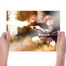 Gunslinger Girl  Art Poster Print  24x18 inch