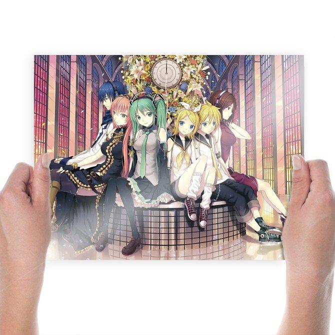 Vocaloid 31  Art Poster Print  24x18 inch