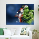 The Nightmare Before Christmas  Art Poster Print  24x18 inch