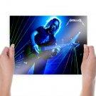 Metallica Kirk Hammett  Art Poster Print  24x18 inch