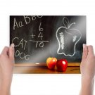 Back To School  Art Poster Print  24x18 inch