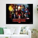 Iron Man 3 Hd S 1920x12 Art Poster Print  24x18 inch