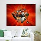 Kung Fu Panda Poster Calendar  Art Poster Print  24x18 inch