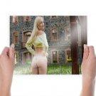 Hot Sexy Girl Backside  Art Poster Print  24x18 inch