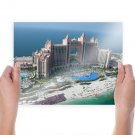 Atlantis Palm Dubai  Art Poster Print  24x18 inch