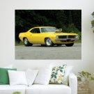 70 Plymouth Barracuda Pro Street  Art Poster Print  24x18 inch