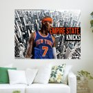 Carmelo Anthony Knicks New York City  Art Poster Print  24x18 inch