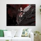 Beauty In Game  Art Poster Print  24x18 inch