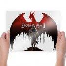 Dragon Age Ii  Art Poster Print  24x18 inch
