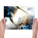 Final Fantasy Vii Advent Children  Art Poster Print  24x18 inch