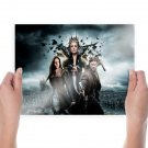 2012 Snow White The Huntsman  Art Poster Print  24x18 inch