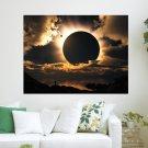Dj Ereck Moon Eclipse  Art Poster Print  24x18 inch