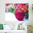 Christmas 2012 Decorations  Art Poster Print  24x18 inch