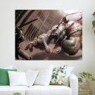 God Of War   Kratos  Art Poster Print  24x18 inch