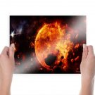 The End Of The World  Art Poster Print  24x18 inch