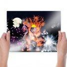 Naruto Night  Art Poster Print  24x18 inch