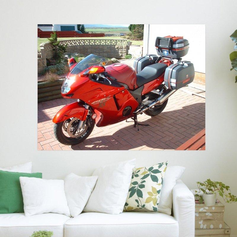 Super Blackbird Xxx  Art Poster Print  24x18 inch