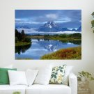 Peaceful Nature  Art Poster Print  24x18 inch