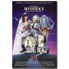 Beetlejuice 1988 Movie Poster Tim Burton Sandworms 32x24