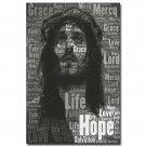 Jesus Christ Mercy Motivational Poster 32x24