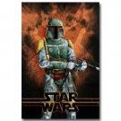 Star Wars Enemy Of The Empire Movie Poster Boba Fett 32x24