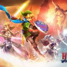 The Legend Of Zelda 25th Anniversary Game Art Poster Hyrule Warriors 32x24