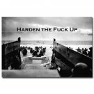 Harden Military Motivational Quotes Poster Home Decor 32x24