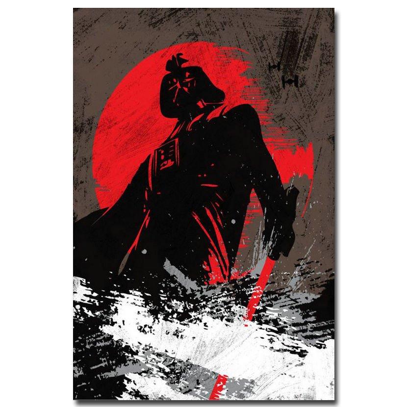 Star Wars 7 The Force Awakens Movie Art Poster 32x24