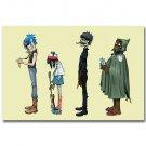 Gorillaz English Virtual Band Damon Albarn Jamie Hewlett Poster 32x24
