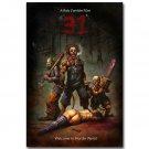 A Rob Zombie Film 31 Classic Horror Movie Art Poster 32x24