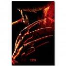 A Nightmare On Elm Street Horror Movie Poster Freddy 32x24