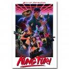 Kung Fury Movie Art Fabric Poster 32x24