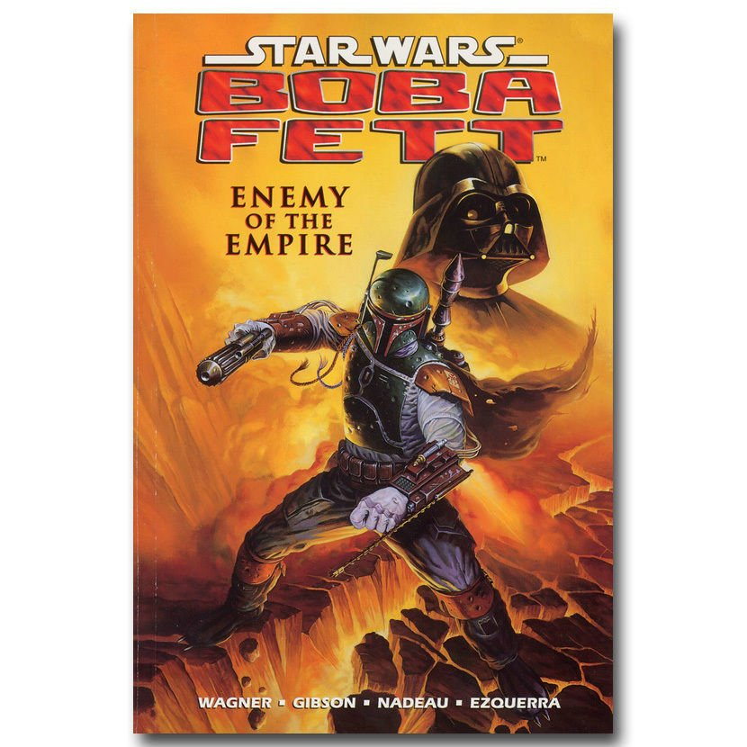 Boba Fett Star Was Enemy Of The Empire Movie Poster Vintage 32x24