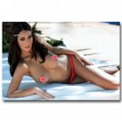 Holly Peers Hot Sexy Model Girl Poster 32x24