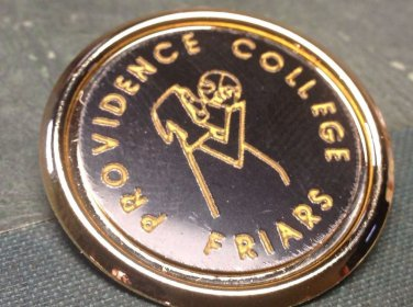 Providence College Friars Vintage Pin Rhode Island Big East Basketball PC FRIARS