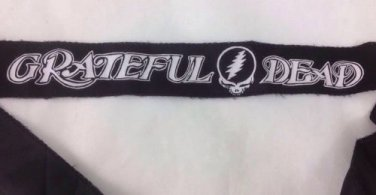 VINTAGE GRATEFUL DEAD HEAD BAND, NEW OLD RECORD STORE STOCK, ROCK & ROLL