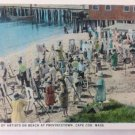 Provincetown MA School Of Artists On Beach At Provincetown MA CAPE COD  c1920s