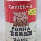 Vintage- **Gambler's Pork & Beans Game** 1981 Milwaukee Wisconsin- Family Fun