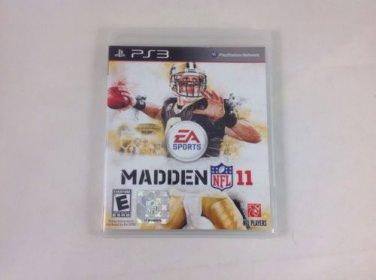 Madden NFL 11 Playstation 3 COMPLETE