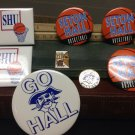 Vintage Seton Hall Pin Lot Basketball College Sports New Jersey PIRATES Big East