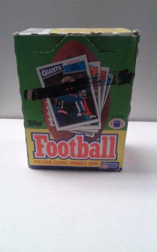 1987 Topps Football Factory Box