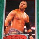 MICHAEL MCGILLICUTTY - 2012 Topps WWE Blue Bordered Parallel #71