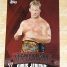 CHRIS JERICHO - 2010 Topps WWE Championship Material PUZZLE