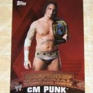 CM PUNK - 2010 Topps WWE Championship Material PUZZLE