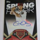 2015 Topps Spring Fever Autograph Chris Owings #086/199