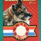 2009 Topps American Heritage Heroes Relic Shana Hero Dog Bed