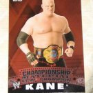 KANE - 2010 Topps WWE Championship Material #C25