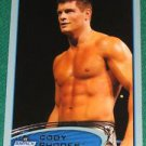 CODY RHODES - 2012 Topps WWE Blue Bordered Parallel #8
