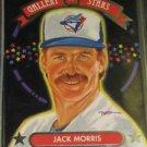 1992 Triple Play Gallery of Stars Jack Morris
